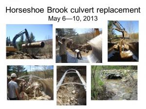 Horseshoe Brook culvert replacement
