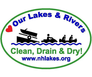 Clean Drain and Dry Lake Host Decal