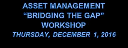 2016 Asset Mangement workshop words